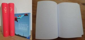 Bye-bye, Berlin in Braille-Schrift